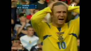 Scotland vs Ukraine EURO 2008 Qualifier