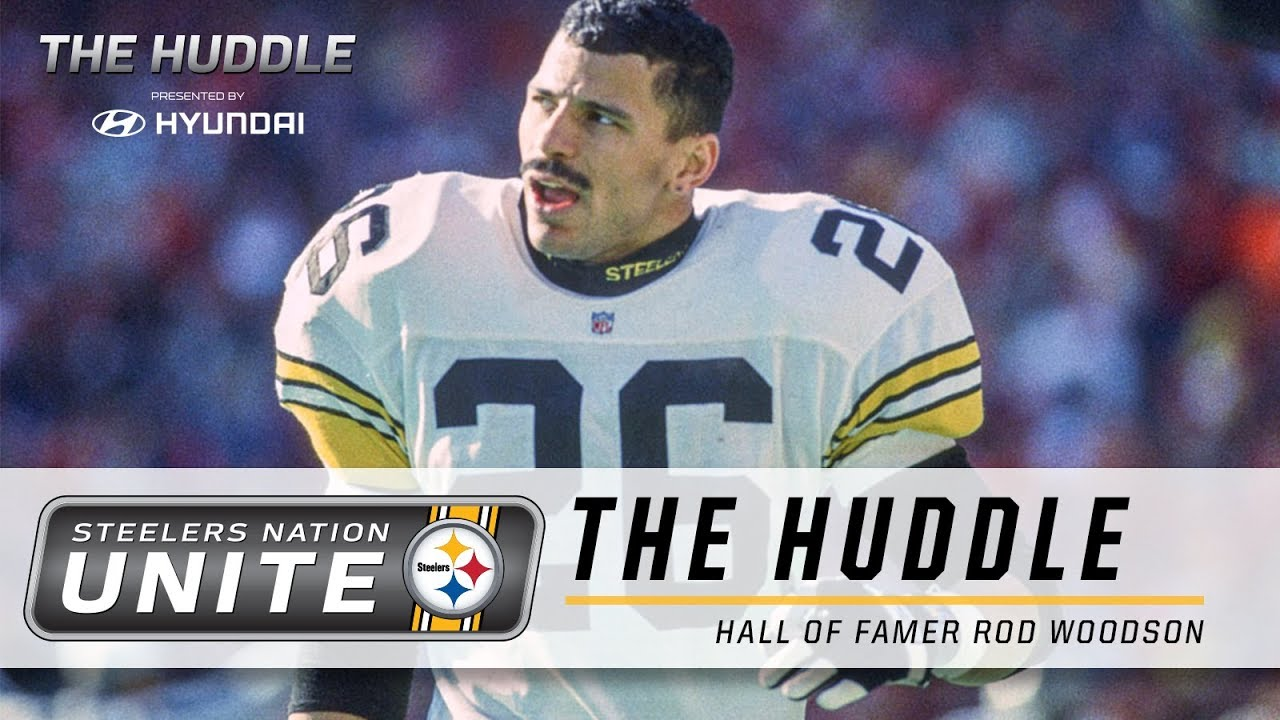 online store bd05b e7e66 The Huddle: Rod Woodson | Steelers Nation Unite