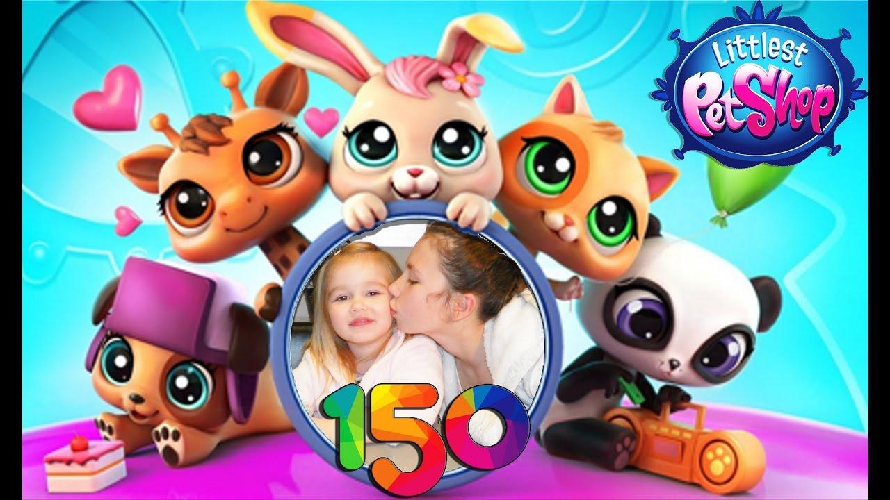 150 Littlest Petshop pour célebrer la 150ème vidéo de la ...