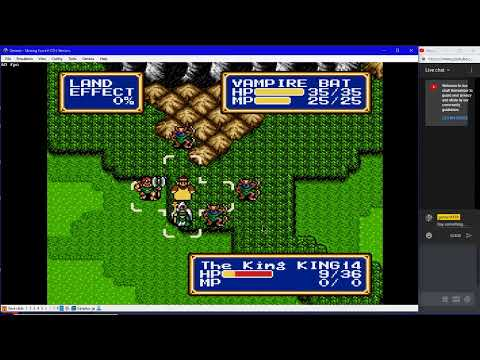 achille12345 shining force 2 cdi rom hack part 4