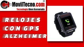 Pulsera reloj GPS Alzheimer resistente al agua - MovilTecno.com