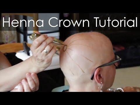 Henna Heals: How to make safe Henna Paste and Henna Crown Tutorial