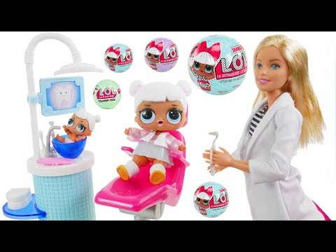 Don't Wake Daddy Shimmer and Shine Game Dolls Bedtime Routine Doctor Barbie Dentist Teeth Slumber!
