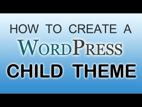 How To Create a WordPress Child Theme – Easy!