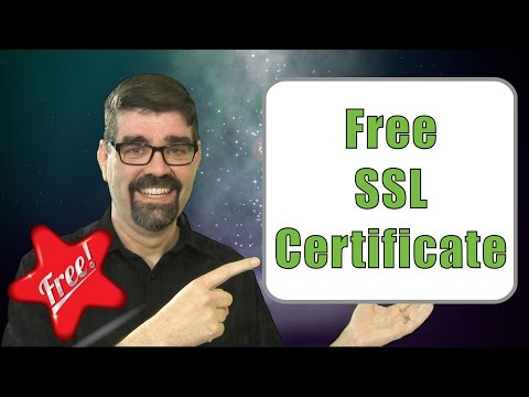 Free SSL Certificate Through Let's Encrypt - Secure Your Web Site For Free - Yes, SSL For Free.