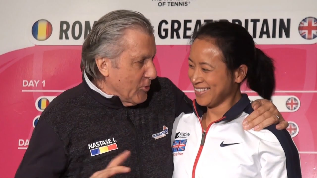 Romania Coach Ilie Nastase Asks For Anne Keothavong s Room Number