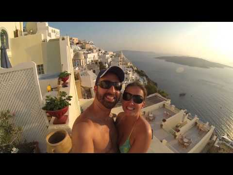 Day 3 in Paradise - Oia and Fira, Santorini