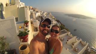 Day 3 in Paradise - Oia and Fira, Santorini(This video starts off waking up at our villa called Helianthus Suites that we booked through www.Booking.com. The villa had breathtaking views of the town of ..., 2013-09-14T01:55:49.000Z)