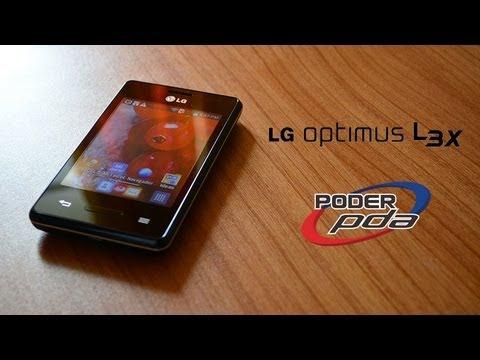 LG Optimus L3X E425 - Análisis en Español HD