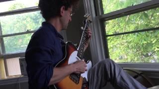 "Dr. Greg Liszt laying down TeleBanjo on ""Silver Rusts Too"""