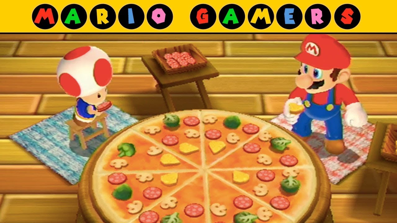 Mario Party 9 - Toad Road - Toad vs Mario | Mario Gamers