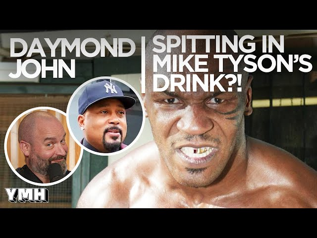 Spitting In Mike Tyson's Drink?!? - Tom Talks Highlight