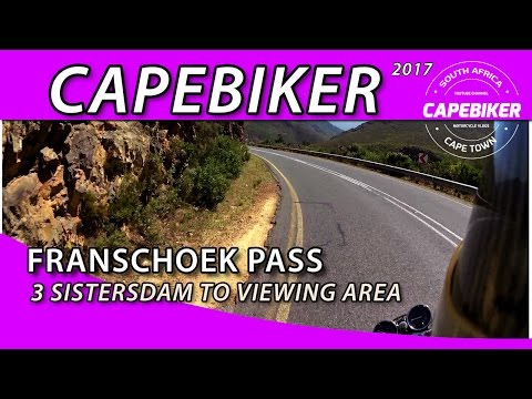 Franschhoek Pass, Western Cape, South Africa Jan 5th 2017