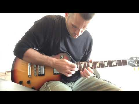 Collective Soul - Shine Solo Demonstration (Slow)