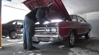 Cold Start The 1969 Ford Galaxie Minus 15 Degrees.
