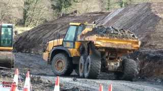 Dump Trucks, Diggers and Dump Trucks!  - Llanddowror Bypass (26)