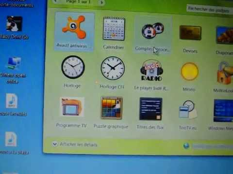 Tuto n 3 comment mettre des gadgets sous windows 8 doovi - Comment mettre des post it sur le bureau windows 7 ...