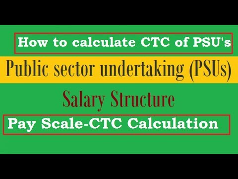PSU Pay Scale Structure/Calculation I How to Calculate Salary of PSU Pay  Scale