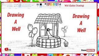 How to draw a well   Easy to draw   LearnByArt