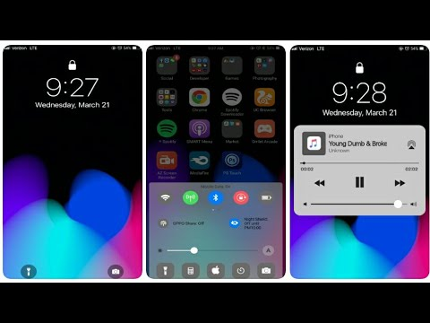 iPhoneX Theme For OPPO F7