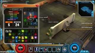 Marvel Heroes Online Gameplay PC (HD)