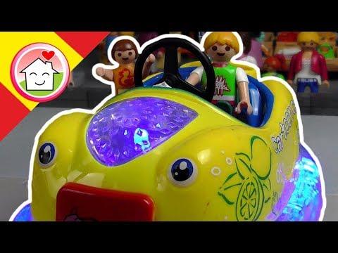 Playmobil en español Coches de choque - Historias para niños - La Familia Hauser