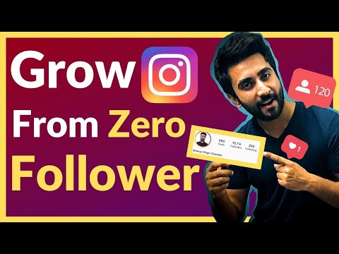 How To Grow An Instagram Account From ZERO Followers (2020)