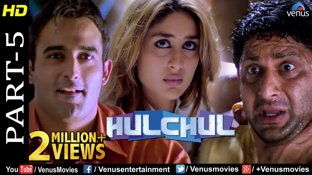 Hulchul - Part 5   Akshaye Khanna, Kareena Kapoor & Arshad Warsi   Best Comedy Movie Scenes