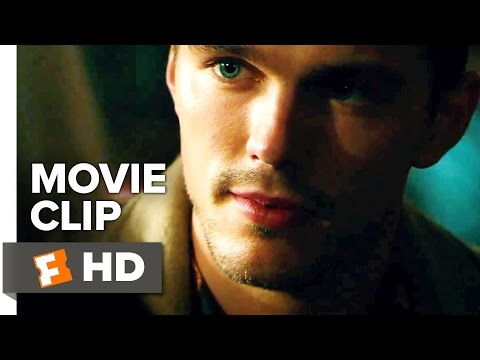 Collide Movie CLIP - I've Seen You Here (2017) - Nicholas Hoult Movie