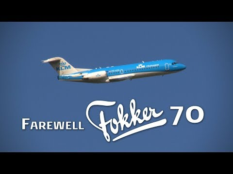 KLM's Farewell to the Fokker 70