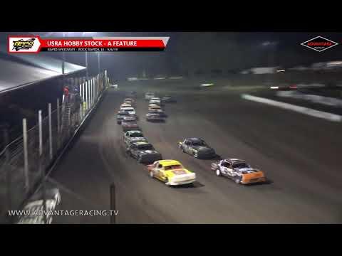 Late Model Heats/Hobby Stock Feature - Rapid Speedway - 9/6/19