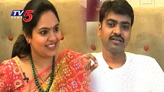 Singers Mallikarjun and Gopika Poornima Exclusive Interview | Animuthyalu | TV5 News