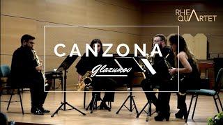 Canzona Variée – Saxophone Quartet, Op. 109 (Alexander Glazunov)