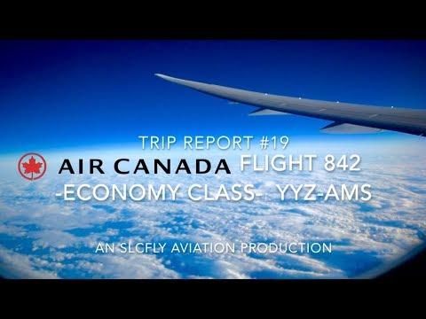 (HD) [TRIP REPORT] AIR CANADA B787-8 | ECONOMY CLASS! | TORONTO - AMSTERDAM |  AC 824