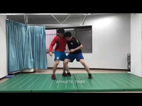#0073 差し返し wrestling techniques and training レスリング