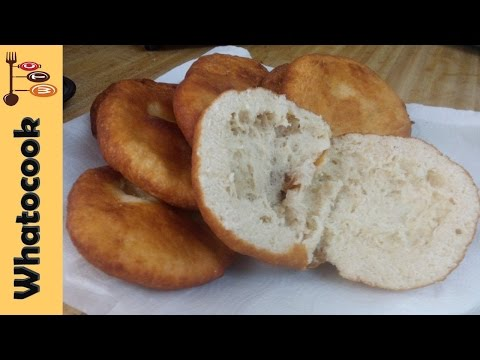 How To Make Virgin Islands 🇻🇬 Johnny Cake - Fry Bakes