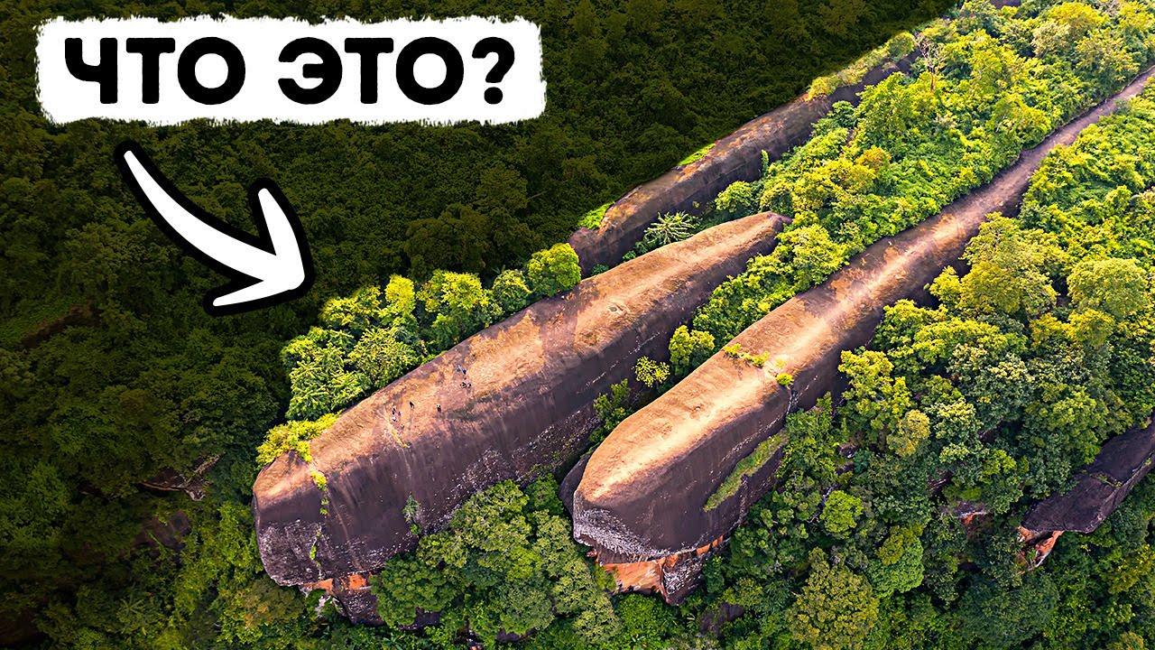 11 таинственных и необъяснимых открытий в тех местах, где они не должны были находиться!