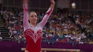 Aliya Mustafina's Bronze Medal Floor Exercise Routine EF - London 2012 Olympics