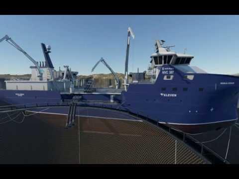 Wellboat Simulation - Fresh Water Fish Loading (Simulation)
