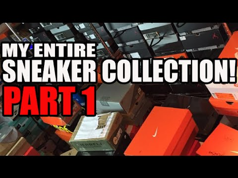Heskicks Entire Sneaker Collection Video! Part 1 (122 Pairs)(Lebrons, SBs, Adidas, Saucony)