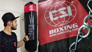 PUNCHING BAG from Amazon BOXING BAG what you can fill How to fix