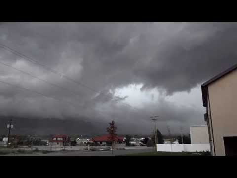 Ominous rotating Clouds above Pleasant Grove, UT 9/7/13