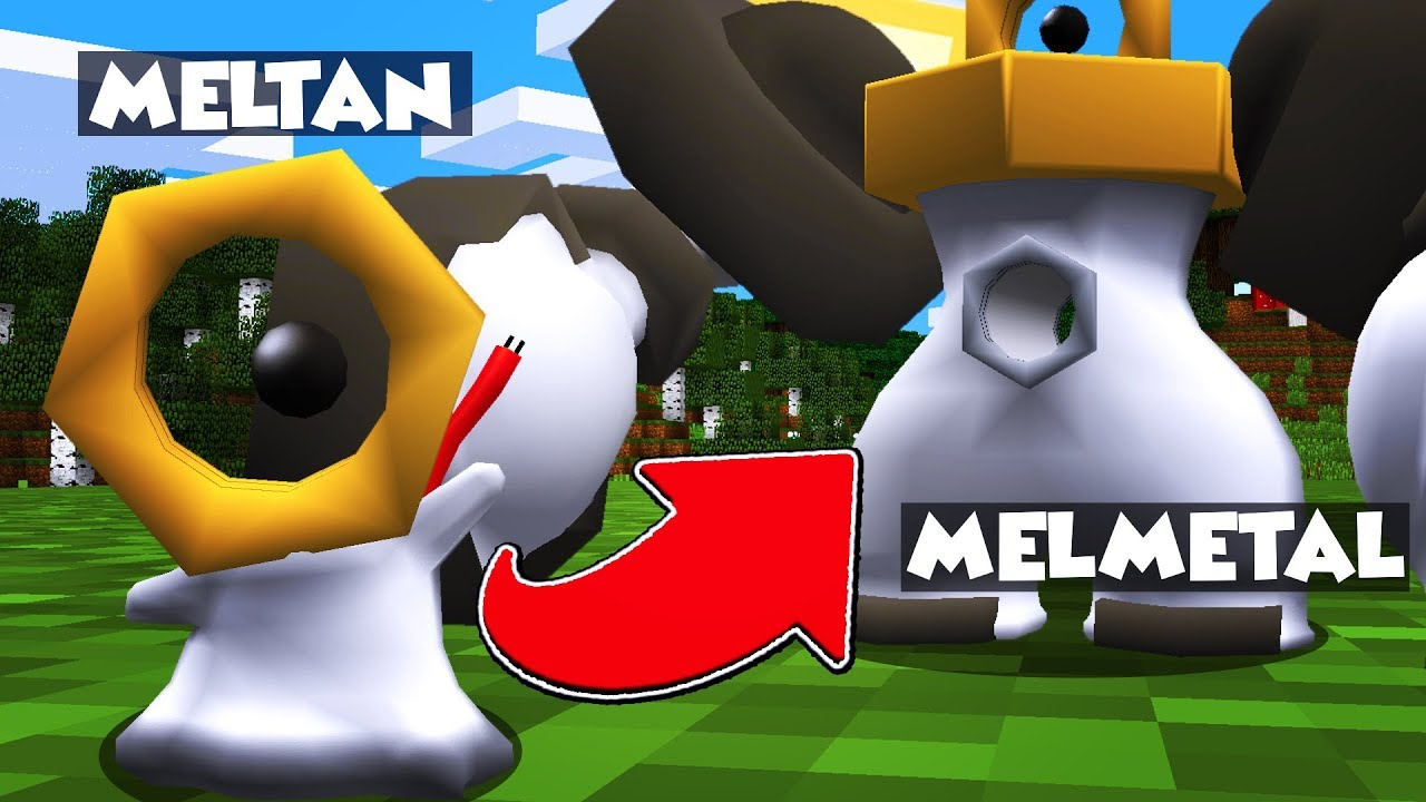 HOW To GET a MELTAN And MELMETAL In MINECRAFT PIXELMON