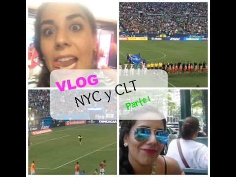 VLOG NYC Y CLT PARTE 1 | Ana Ochoa