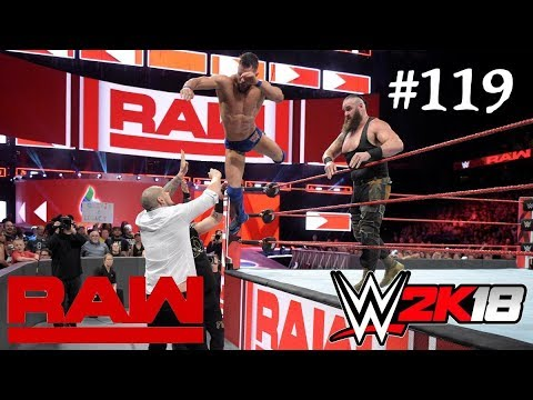 WWE 2K18 || Braun Strowman & Finn Bálor vs  Kevin Owens & \