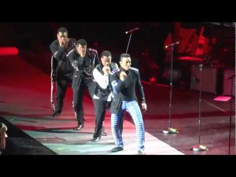 The Jacksons Unity Concert - Opening Song - Can You Feel It and Blame it on the Boogie