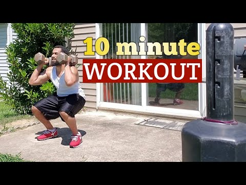Dumbbell Exercises at home