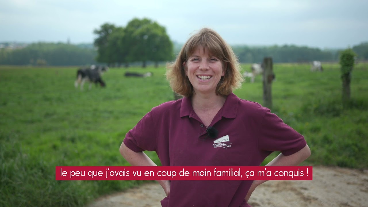 Témoignage - Installation en Agriculture //  Chloe Pilouer