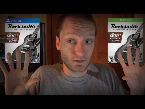 Rocksmith 2014 PS4/One - What You NEED To Know Before Buying!