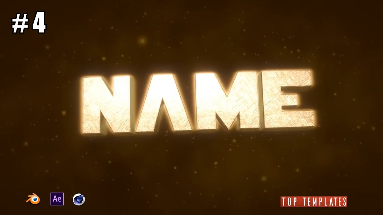 Blender intro template chill